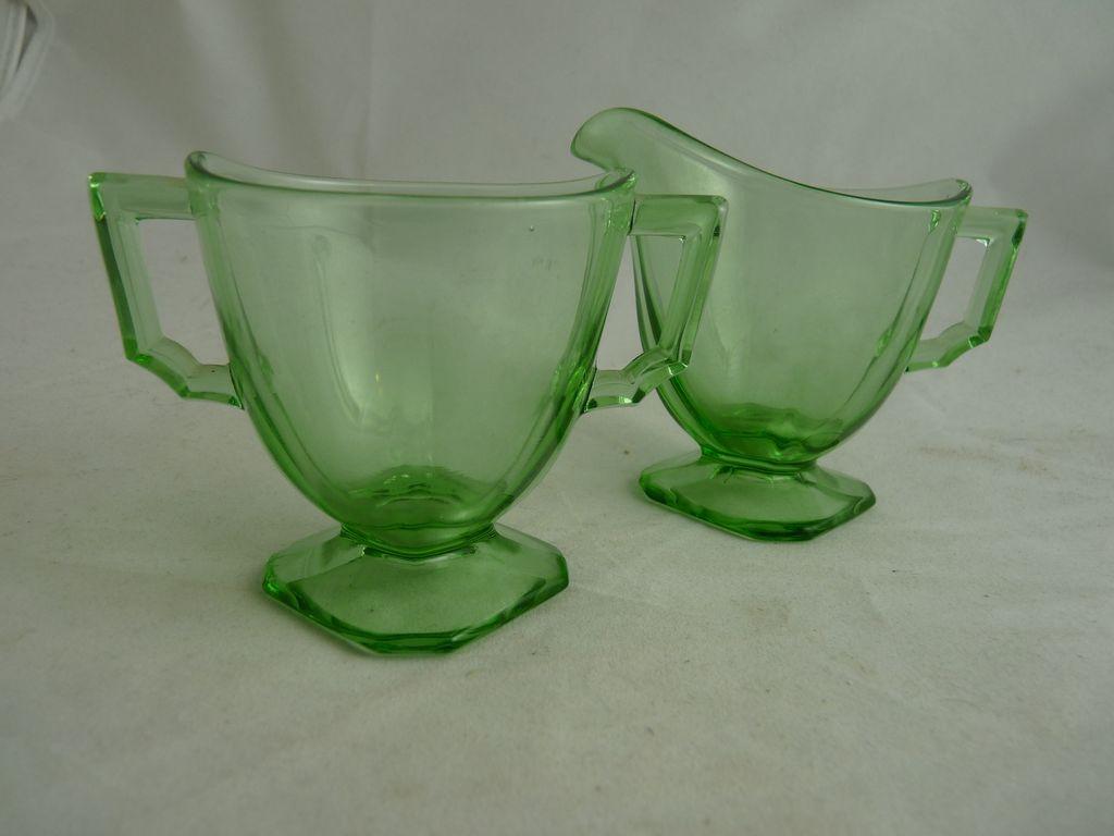 Green depression glass sugar open creamer fostoria mayfair green depression glass sugar open creamer fostoria mayfair reviewsmspy