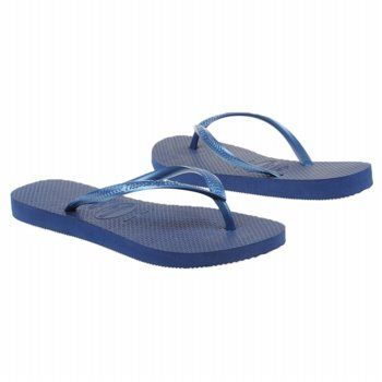 Havaianas Slim Sandals (Navy) - Women's Sandals - 18.0 OT