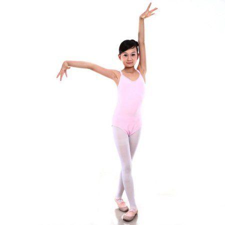 7d03672a7b8d 7 Sizes Girl Kid Sleeveless Dance Gymnastics Leotards Ballet Leotard ...