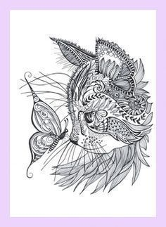 Geometric tattoo – best geometric tattoo – cat doodle – …