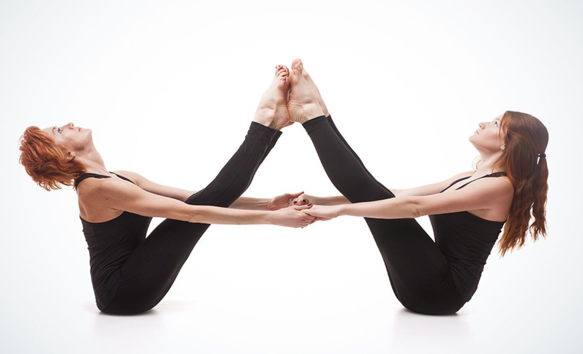 Two Is Always Better Than One Right This Is Especially True For Yoga It Also Comes A Huge Range Of Physical And Partner Yoga Yoga Challenge Poses Yoga Poses