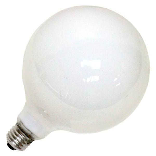 100 Watt 120 Volt G40 Medium Screw Base Soft White Light Bulb