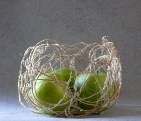 gk kreativ: DIY Schale aus Paketschnur
