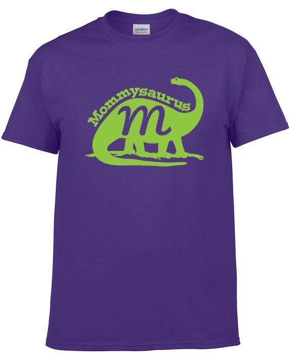 a7f6a6457 Mom Dinosaur Tshirt - Mommysaurus dinosaur name tshirt - you pick the colors