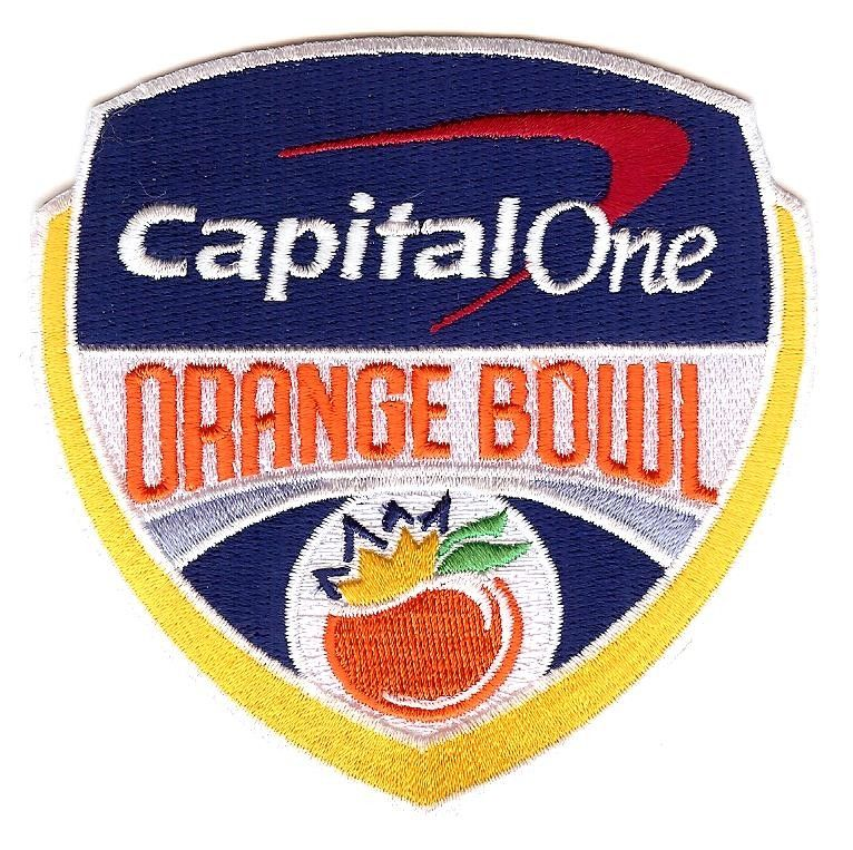 Capital One Orange Bowl Game Jersey Patch Mississippi