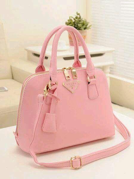 Cartera en rosa, super lindaa