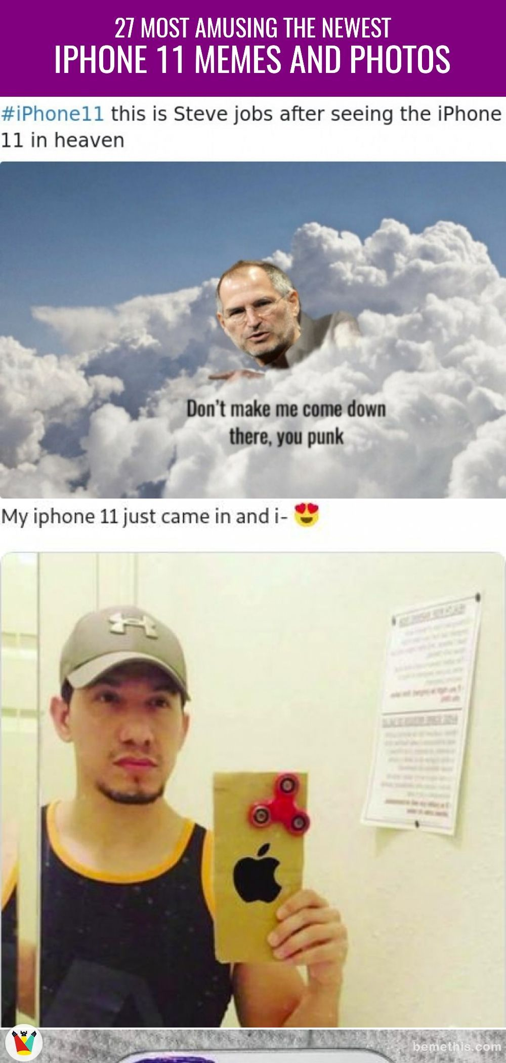 27 Most Amusing The Newest iPhone 11 Memes and Photos