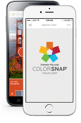 Pick Paint Colors Style With Sherwin Williams The Colorsnap Color Matching Uses Your Android Or Iphone Smartphone To Match