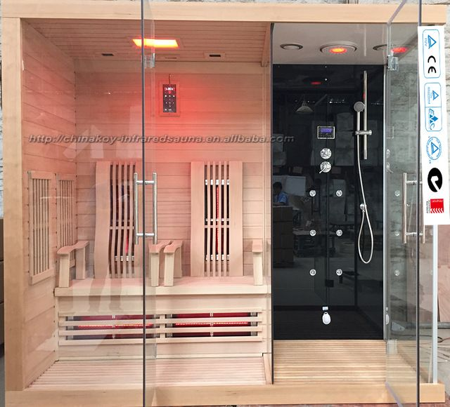 Source 2016 New Steam Shower And Infrared Sauna House Combinations
