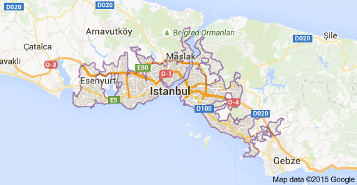 Map Of Istanbul Istanbul Turkey Map Web Analysis Istanbul