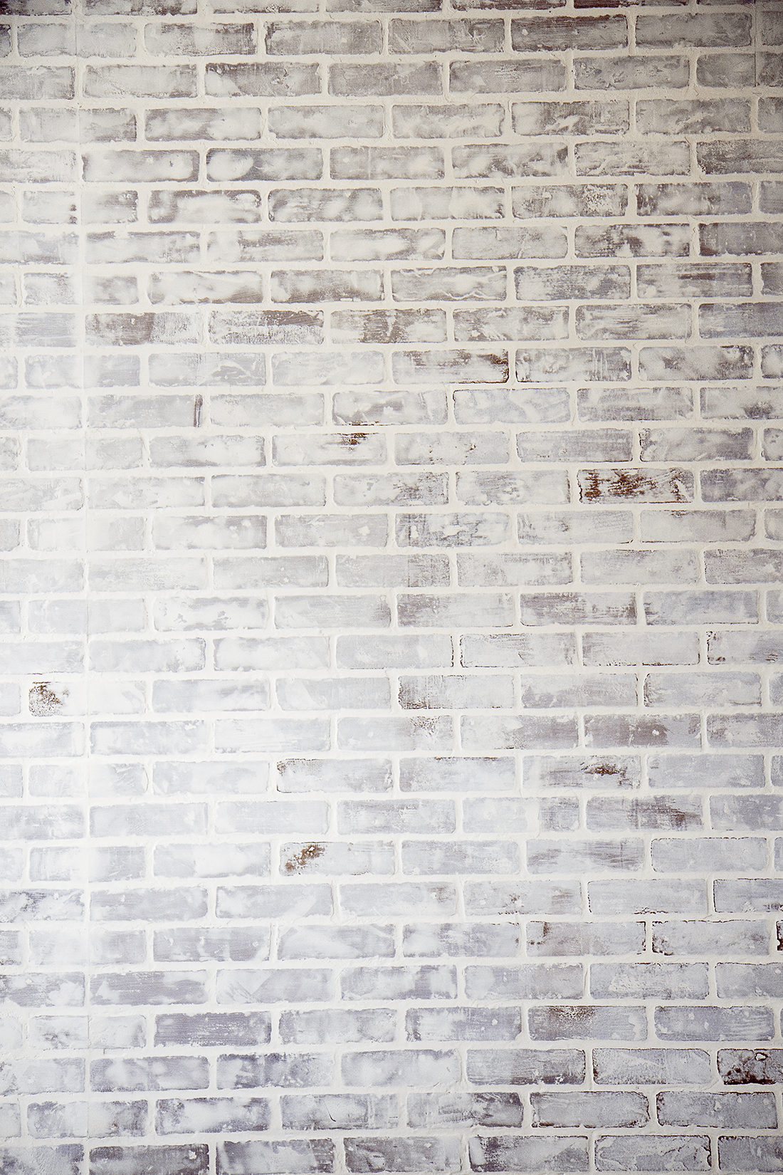 Diy Faux Brick Wall Easy Faux Brick Wall Using Brick Paneling Diy Faux Brick Wall Faux Brick Walls Diy Brick Wall