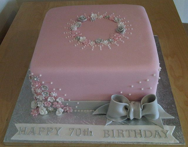 Birthday cake flickr sharing cakes pinterest for 70th birthday cake decoration ideas