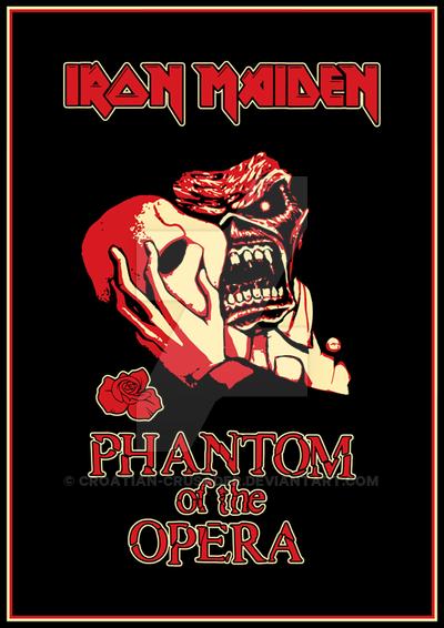 Iron Maiden Phantom Of The Opera Iron Maiden Posters Iron Maiden Albums Iron Maiden Album Covers