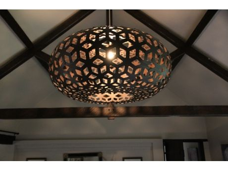 Superb David Trubridge   Snowflake In Black #lighting #design #decor