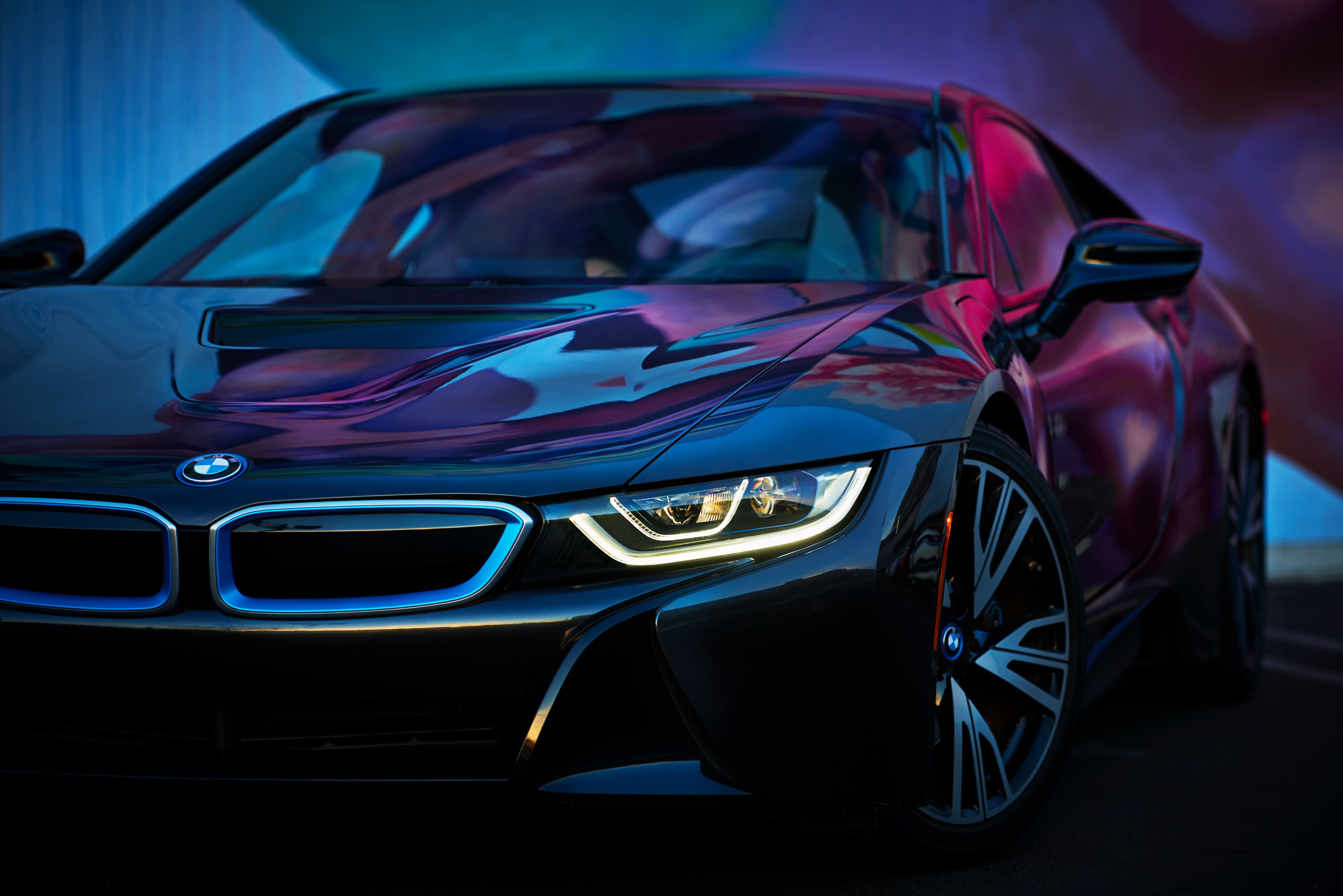 This Is One Of Bmw S Future Cars That Uses 2 Systems In The System Which Is An Electric System And A Photo Engine And A Futur Bmw I8 Bmw Wallpapers Super Cars