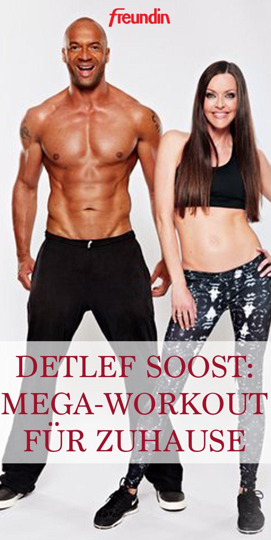 Fitness-Coach Detlef Soost aus dem freundin-Expertenkreis verrät, was es mit der Plank-Position auf...