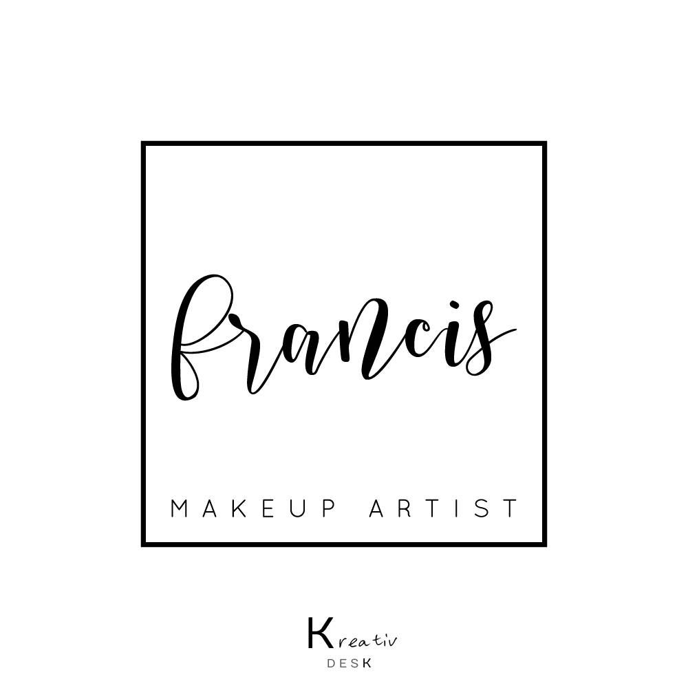 Signature Logo Calligraphy Make Up Square Stamp Watermark Handmade Company Premade By KreativDesk On Etsy