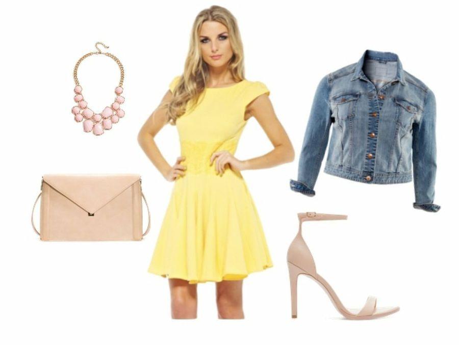 Se quita el vestido amarillo