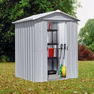 Buy Yardmaster Deluxe Apex Metal Garden Shed - 6 x 4ft at Argos.co.uk - Your Online Shop for Sheds. 129.99