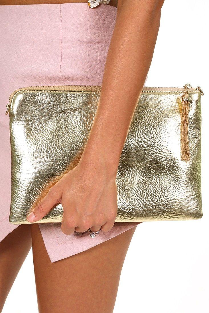 She's Got Class Clutch: Gold #shophopes