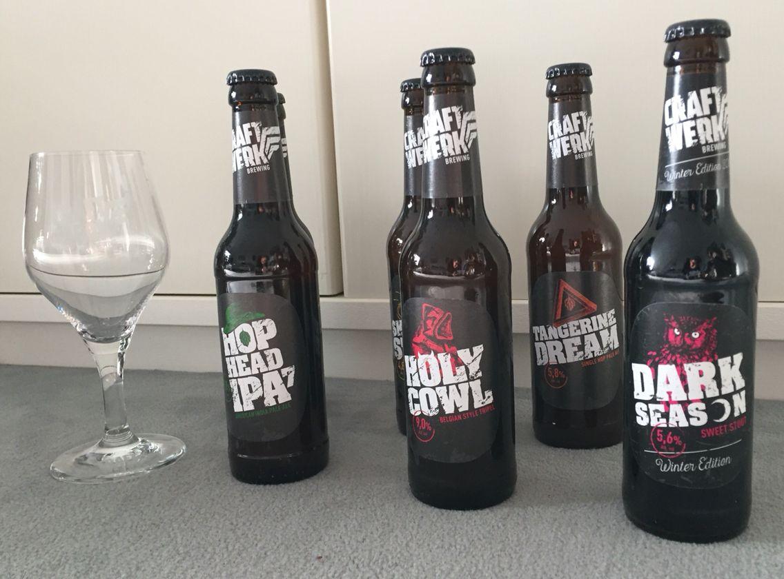 THANK YOU VERY MUCH TO CRAFTWERK BREWING! Ganz lieben Dank für Eure tolle Sendung! www.JuergenSchreiter.com  #craftwerk #craftwerkbrewing #beer #brewery #craftbeer #Verkostung #bier #sommelier #bestbeer #bierprobe #beertasting #pivo #piva #cerveza #Brauerei #tangerinedream #darkseason #winteredition #skippingstone #holycowl #hophead #hopheadipa #beerporn #ipa #brandambassador #schreiter #brewery