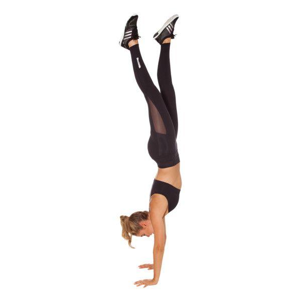 BM-PRO Sheer Ninja Pants ($105) ❤ liked on Polyvore featuring full body