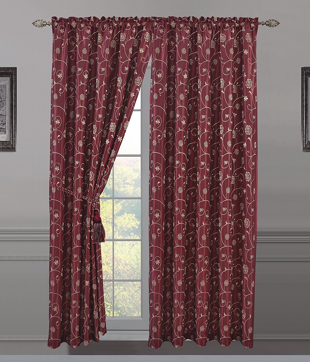 All American Collection Cute Curtains   Shower curtain sets, Shower ...