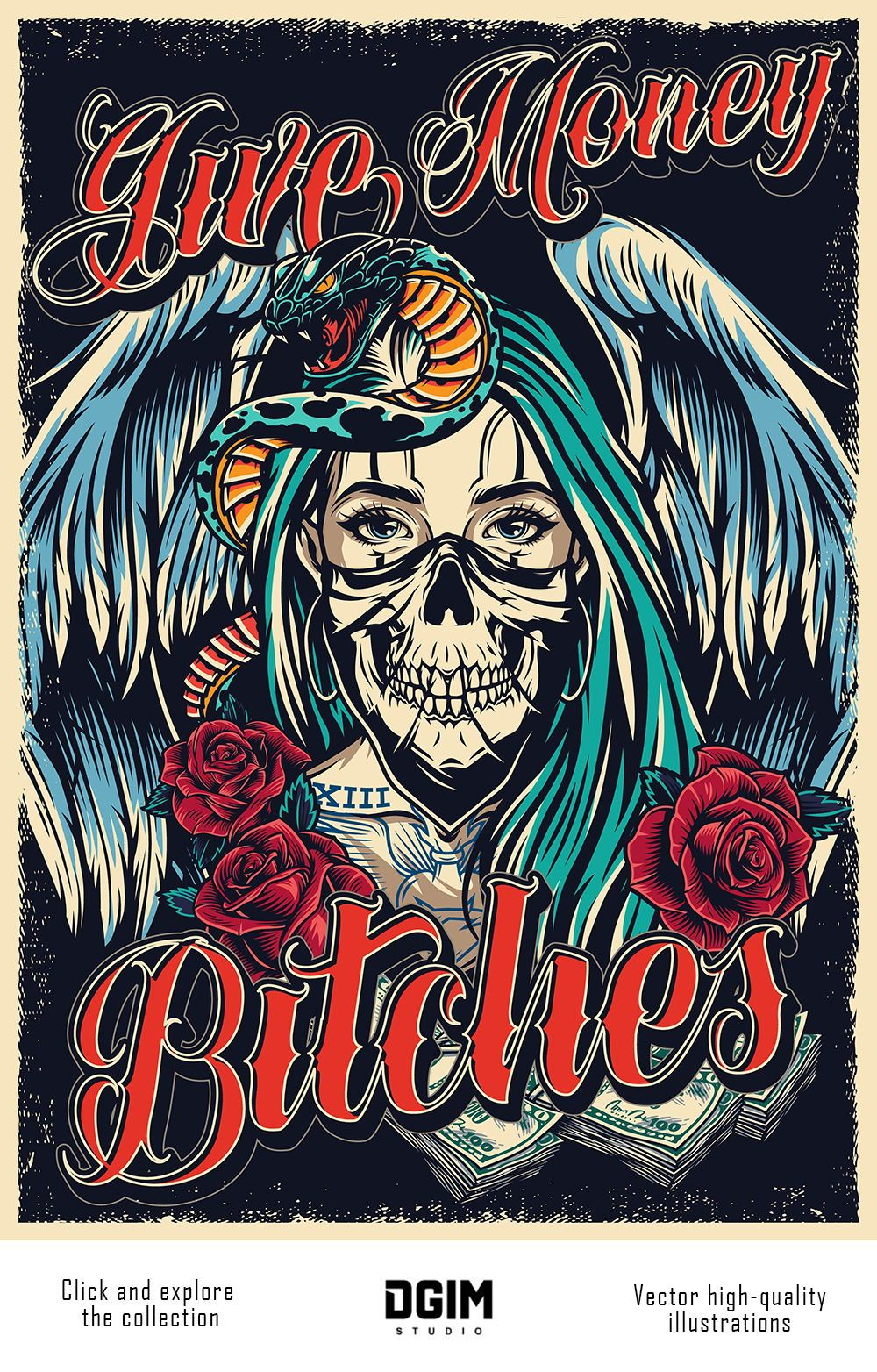 60 Chicano Vector Designs In 2020 Tattoo Posters Chicano Vector Design