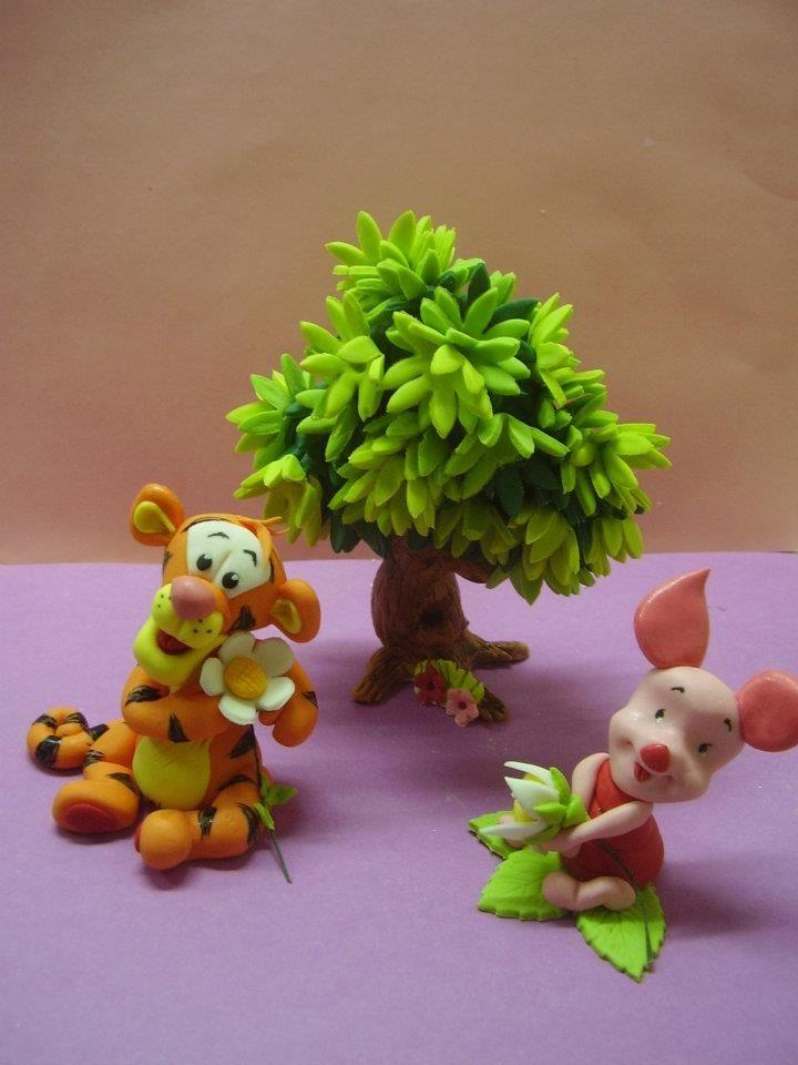 Winnie the pooh winnie pinterest winnie pooh torte fondant baum und fondant deko - Winnie pooh deko ...