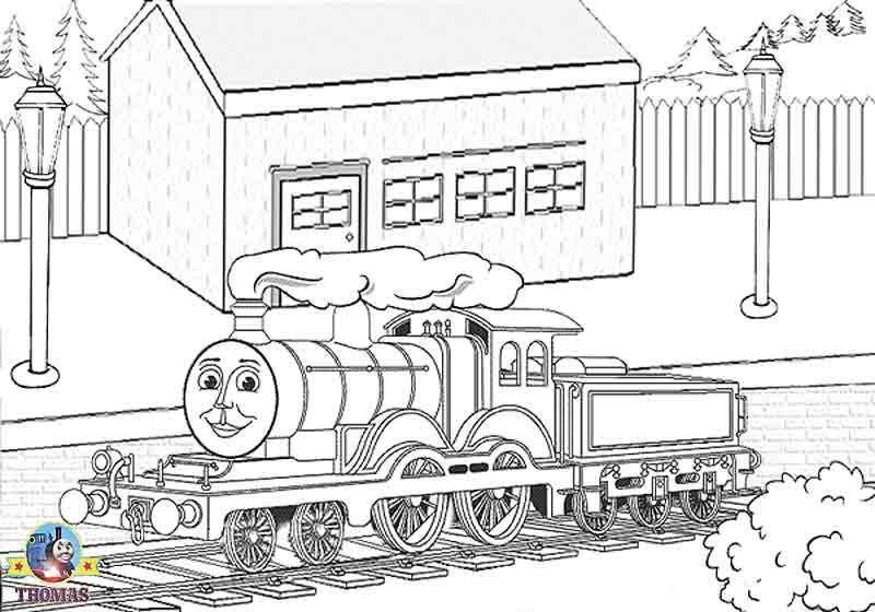 Thomas The Train Coloring Pages Bestofcoloringcom Grandkids