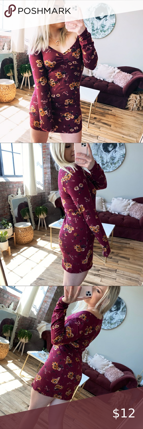 Wild Fable Target Floral Tight Body Con Dress Dresses Bodycon Dress Clothes Design [ 1740 x 580 Pixel ]