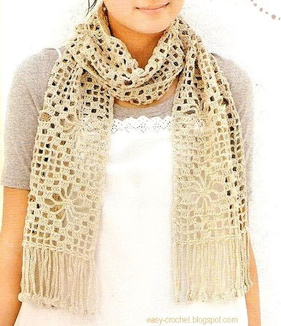scarf - free pattern | Projects to Try | Pinterest | Dream cars ...
