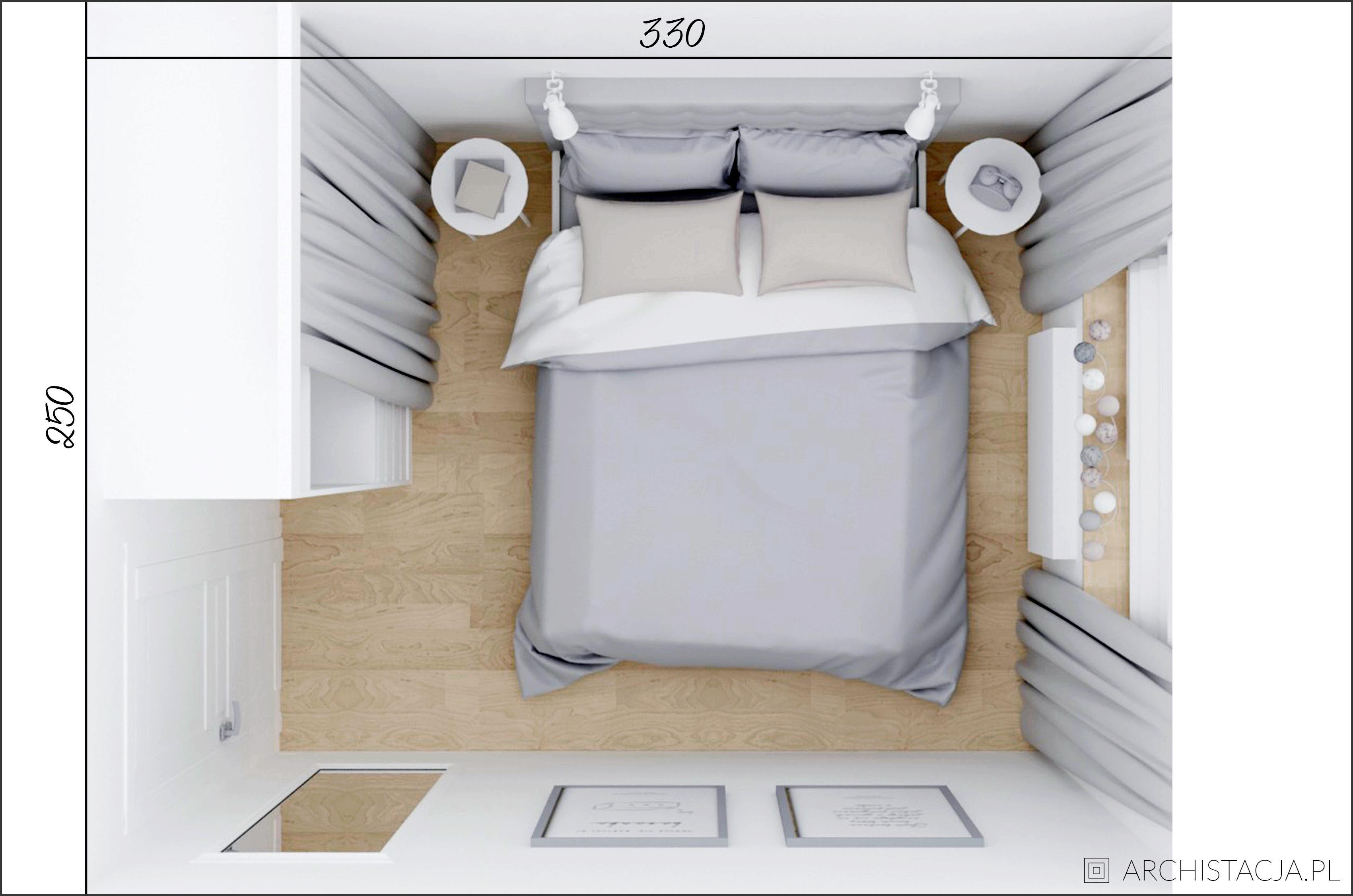 Mała Sypialnia W Bloku Wnętrza W 2019 Sypialnia