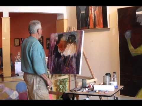 Mel McCuddin Art Show Demonstration