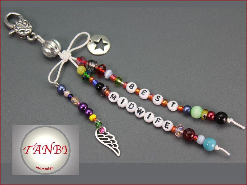 Weiteres - Taschenanhänger midwife Nr. Dm 46 - ein Designerstück von TANBI-mommies bei DaWanda