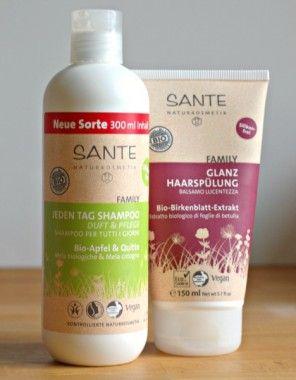 Sante Shampoo Bio Vegan Sulfatfrei Besser Haare Pflegen