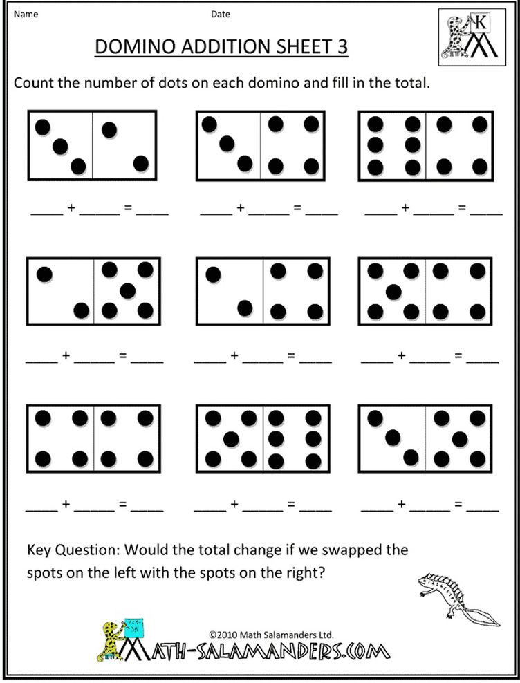 kindergarten math worksheets | Bella Blue loves to learn! | Pinterest