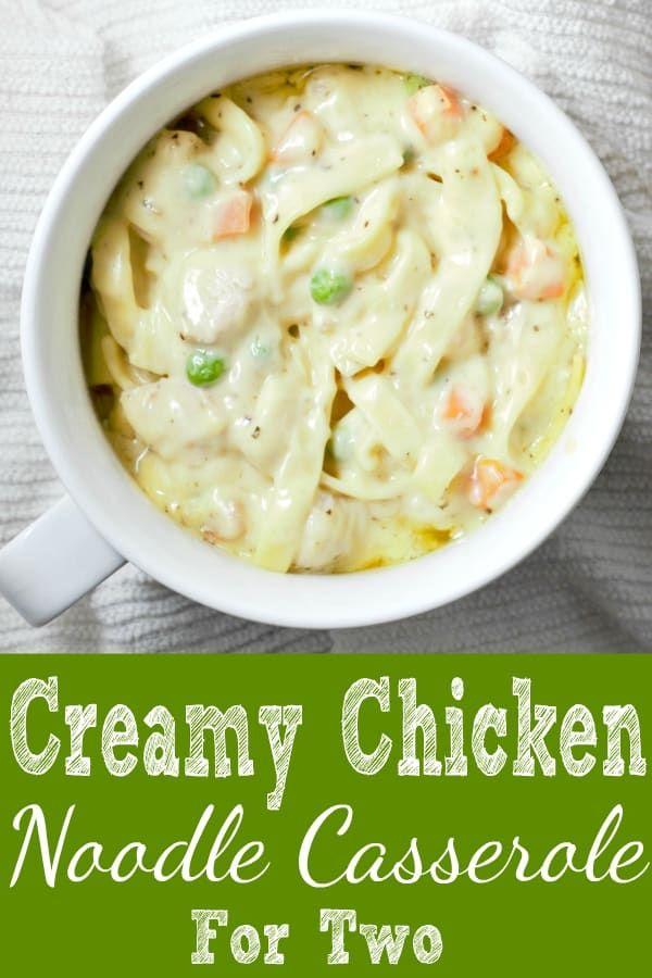 Creamy Chicken Noodle Casserole images