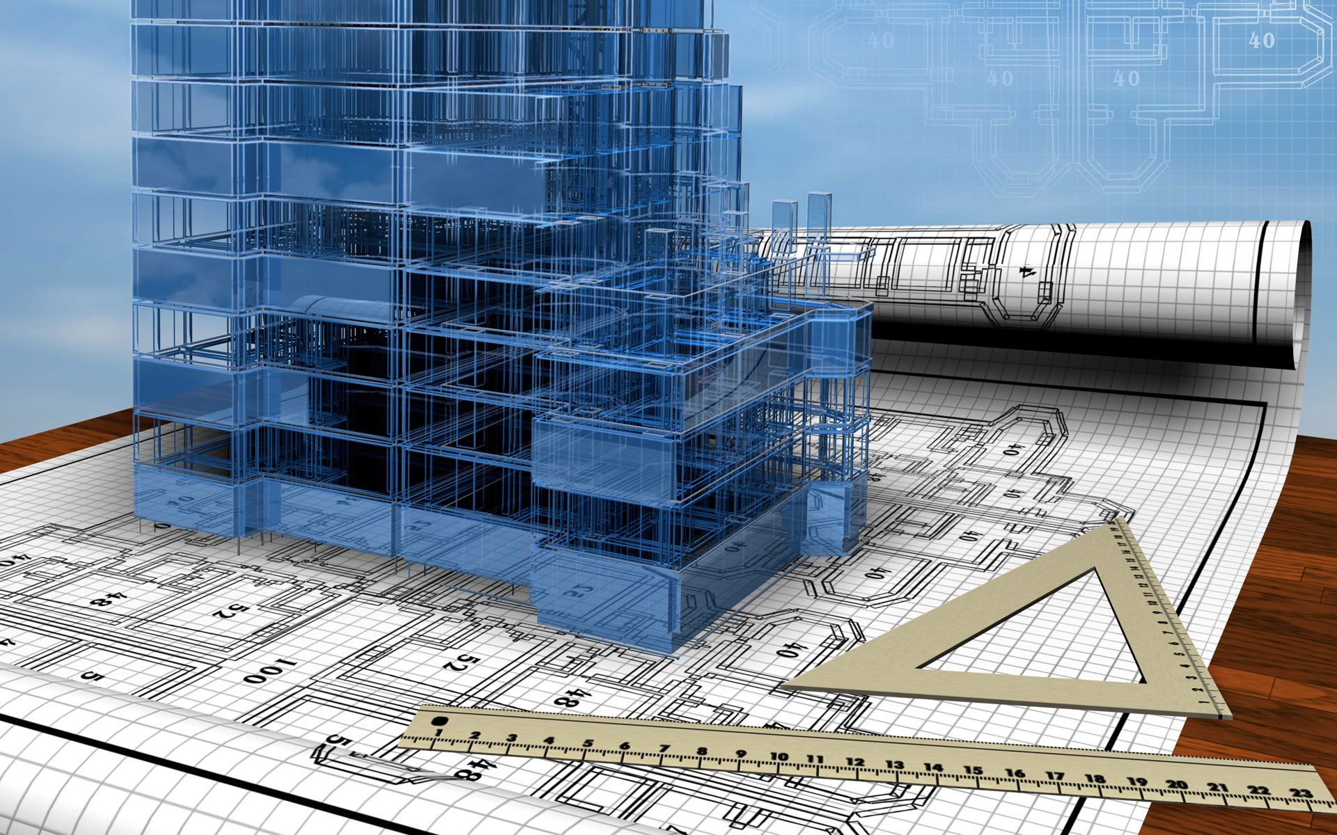 3d Beautiful Architecture Building Design Structural Engineering Building 1080p civil engineering hd wallpapers