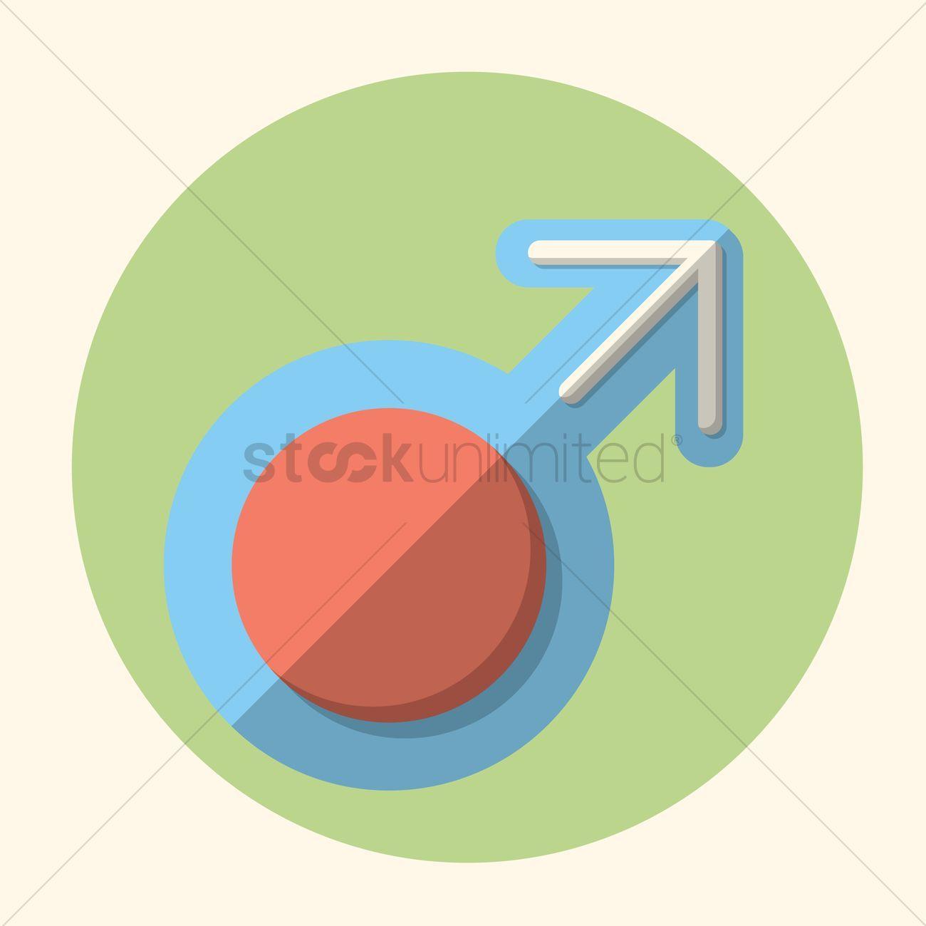 Male symbol stock vector , #AFFILIATE, #symbol, #Male, #vector, #stock #affiliate