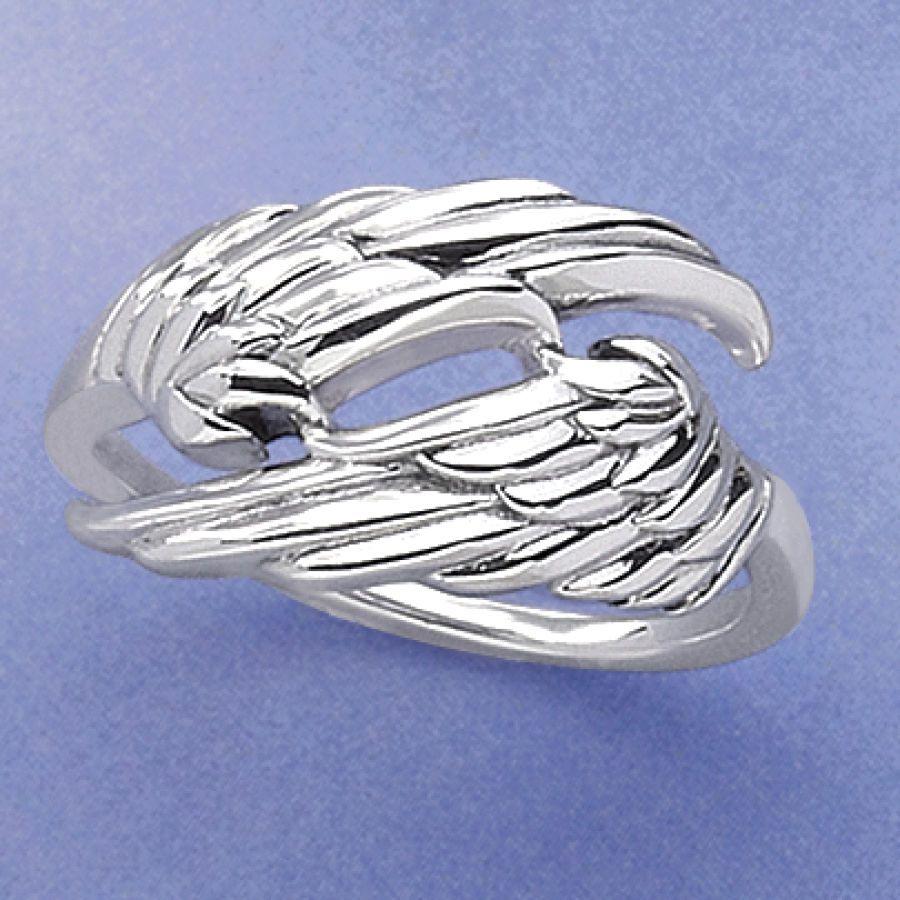 Etsy Angel Wing Rings