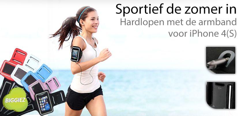 Kom de zomer door met de allergoedkoopste sport armband van Nederland! Haal hem nu voor maar 6,95 inclusief verzenden!!! Vandaag besteld, morgen in huis!!!
