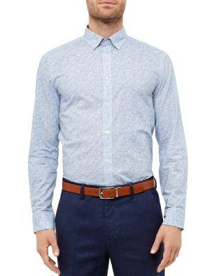 65ff5aafd TED BAKER Kendall Swirl Regular Fit Button Down Shirt.  tedbaker  cloth   shirt