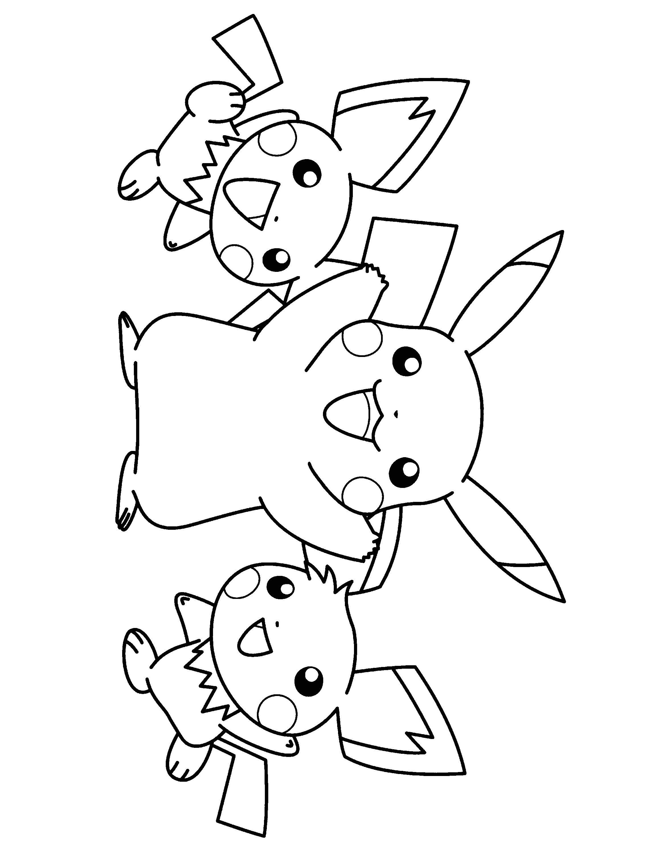 Coloriage Pokemon A Imprimer Gratuit Noir Et Blanc Character