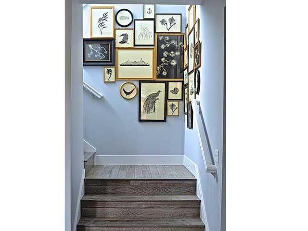 Cage d\'escalier : 20 idées déco pour un bel escalier | Escaliers en ...
