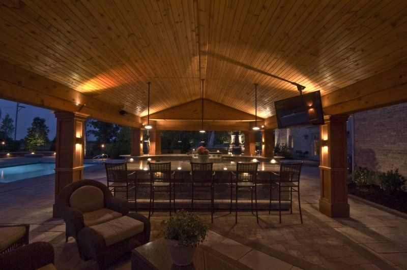 Pictures Of Outdoor Living Es Lighting