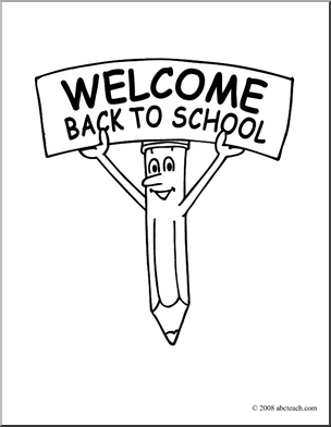 back to school  dibujos  Pinterest  Cartoon Coloring and Back to