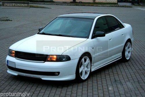 Audi-A4-B5-99-01-Front-Bumper-spoiler-S-line-lip-Valance