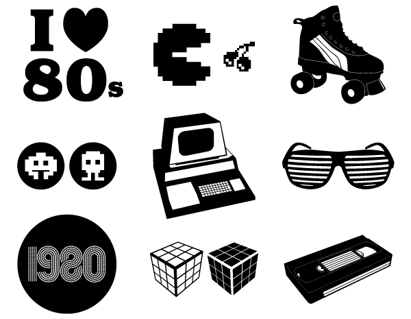 Download 80's svg - Google Search | 80s theme, 80s theme party, 80s