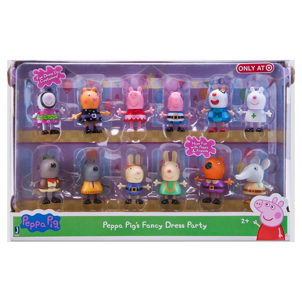 Peppa Pig Fancy Dress Party Figures - 12 Pack   Pinterest   Juguetes